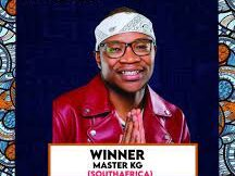 Master KG Bags Global Record Of The Year Award At The GMAA
